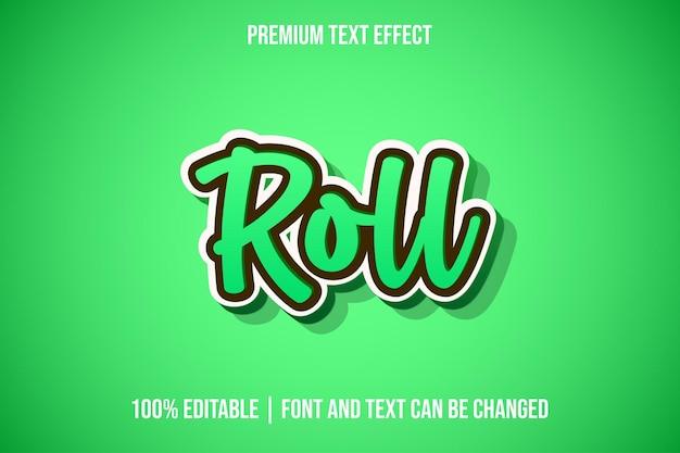 Modelos editáveis de efeitos de texto 3d