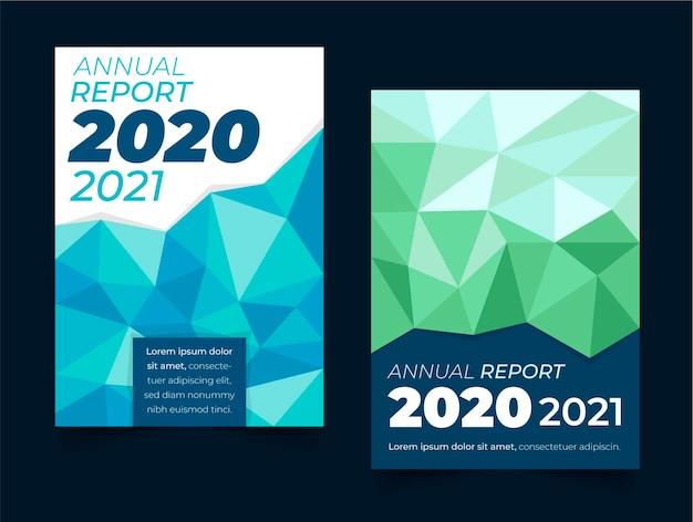 Modelos geométricos de relatório anual