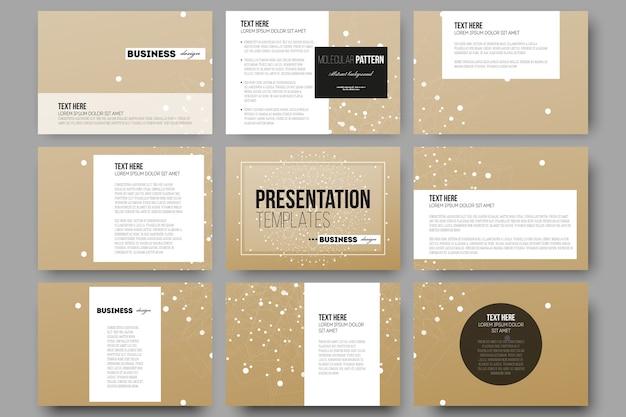 Modelos para slides de apresentação