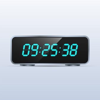 Modern digital clock