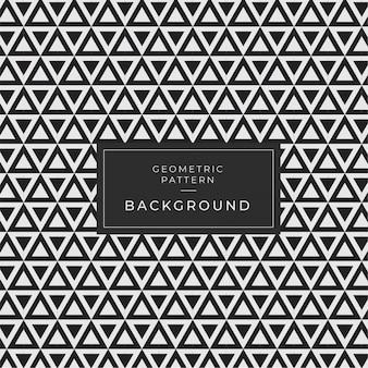 Modern monochrome geometric seamless pattern fundo deco