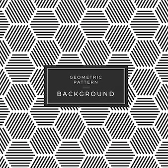 Modern monochrome geometric seamless pattern fundo deco