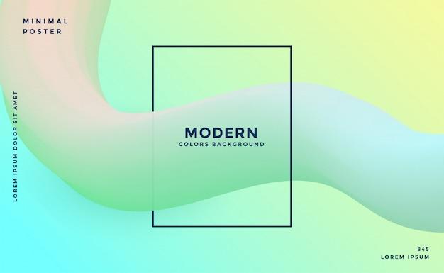 Moderno cor suave 3d abstrato
