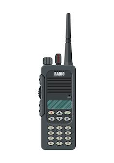 Moderno dispositivo portátil de rádio portátil