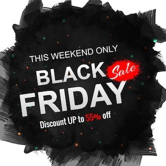 Moderno sexta feira preta venda elegante fundo