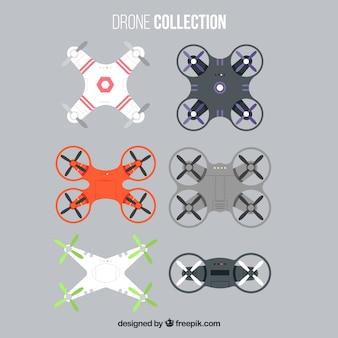 Modernos drones com estilo profissional