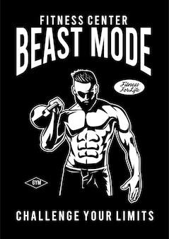 Modo besta de fitness