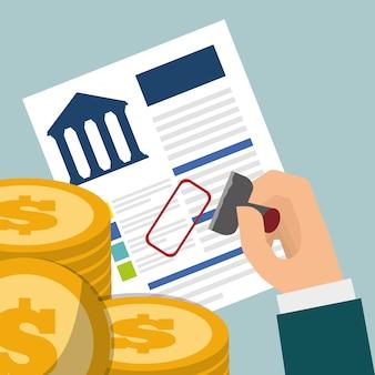 Moedas de crédito bancário aprovadas