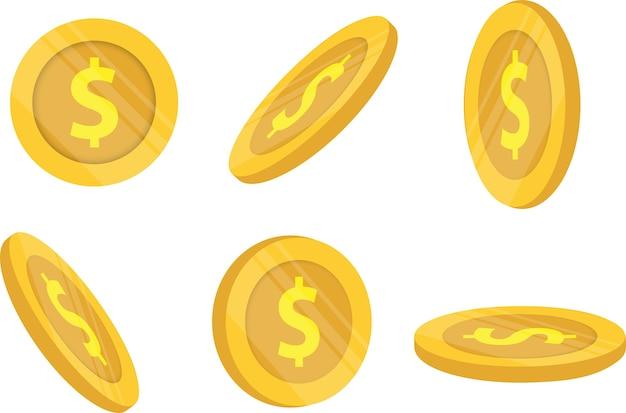Moedas de ouro e finanças empresariais