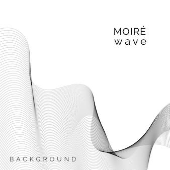 Moiré, padrão, fundo