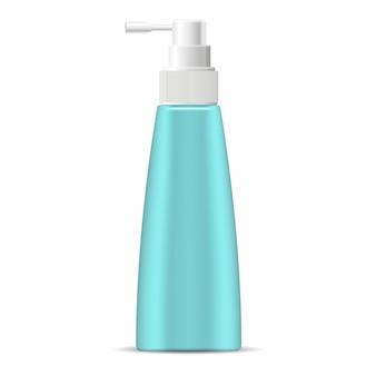 Moisturizer spray maquete de garrafa cosmética em marine