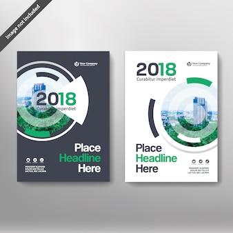 Molde de design de capa de livro de negócios da cidade em a4. pode ser adaptado ao folheto, relatório anual, revista, cartaz, apresentação corporativa, portfolio, flyer, banner, website.