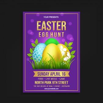 Molde do insecto da caça do ovo da páscoa