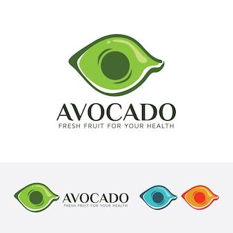 Molde do logotipo do abacate