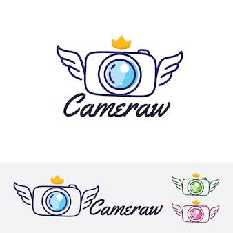 Molde do logotipo wings camera