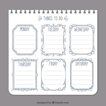 Molde simples lista de tarefas