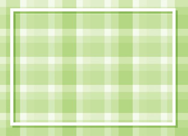Moldura de fundo com design banhado a verde