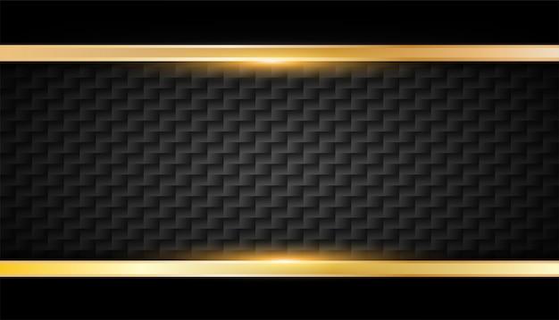 Moldura dourada brilhante