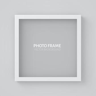 Moldura quadrada da imagem 3d