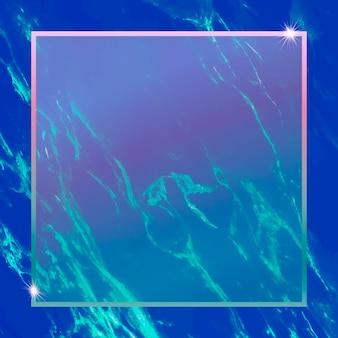 Moldura quadrada em fundo abstrato
