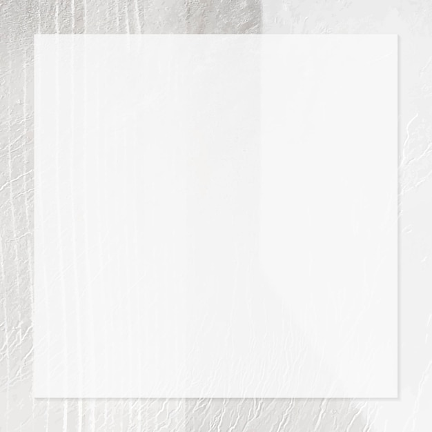Moldura quadrada em um modelo de anúncio social de plano de fundo texturizado