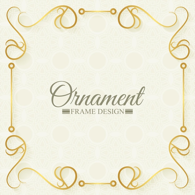 Molduras decorativas ornamentais clássicas
