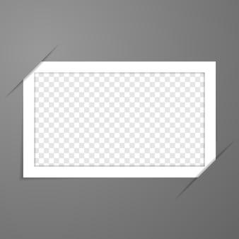 Molduras para fotos em branco