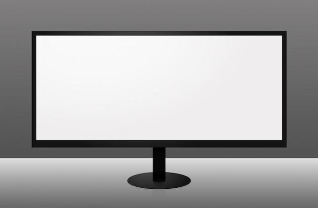 Monitor de tela de grande formato