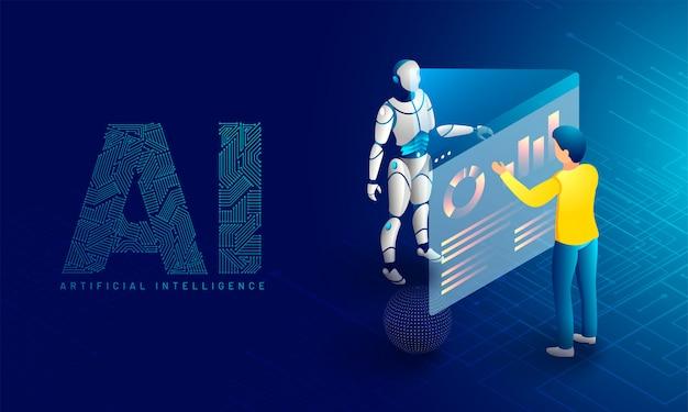 Monitoramento robótico de dados.