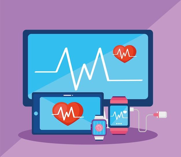 Monitores de saúde vestíveis