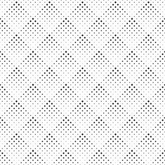Monocromático abstrato geométrico estrela padrão sem emenda design