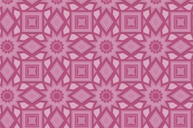 Monocromático padrão rosa com formas