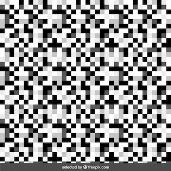 Monocromático pixel de fundo