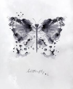 Monótipo borboleta preta