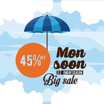 Monsoon grandes vendas e descontos