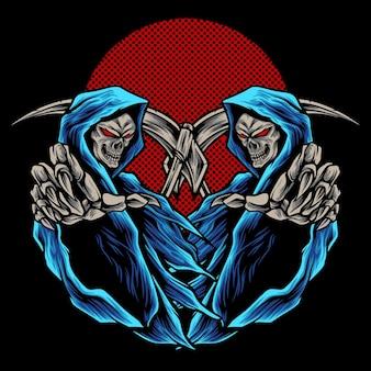 Monstro do demônio gêmeo