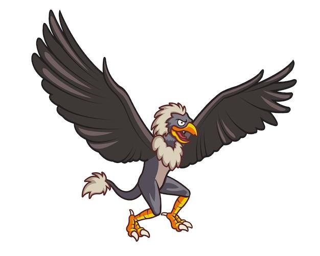 Monstro do pássaro voador