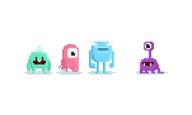 Monstro do pixel