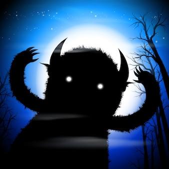 Monstro escuro