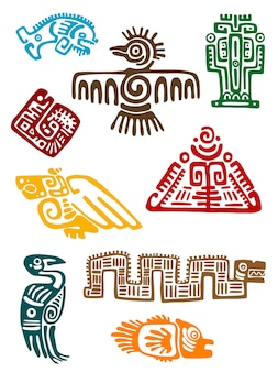 Monstros maya antigos