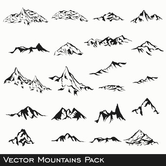 Montanha projeta a coleção