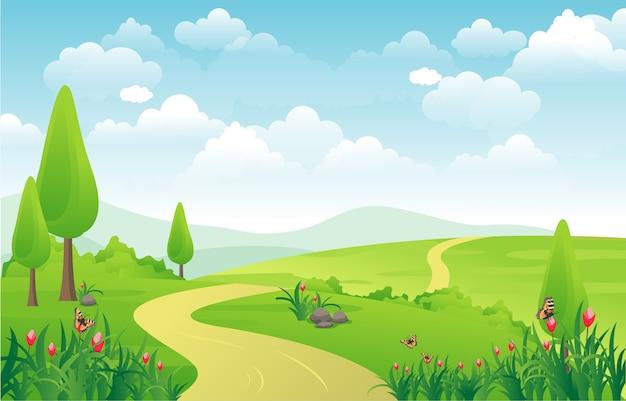 Montanhas hills green grass natureza paisagem céu