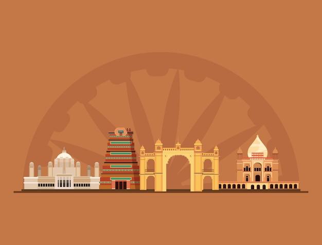 Monumentos indianos