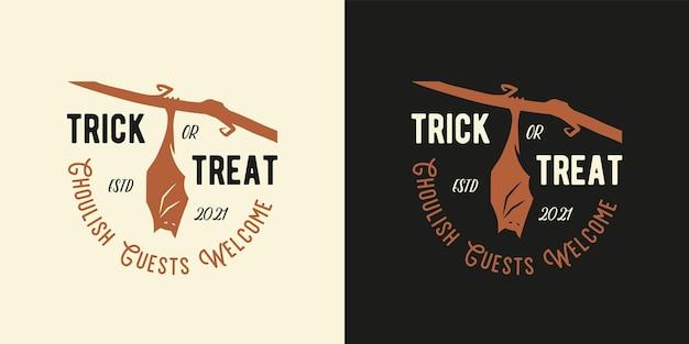 Morcego de halloween para impressão de vampiro assustador de halloween