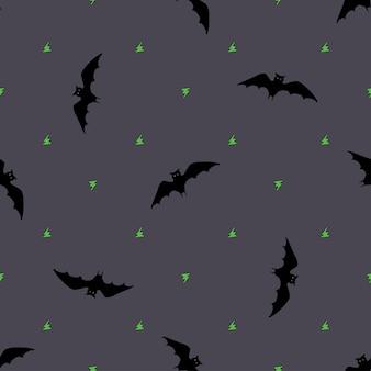 Morcego, padrão sem emenda.