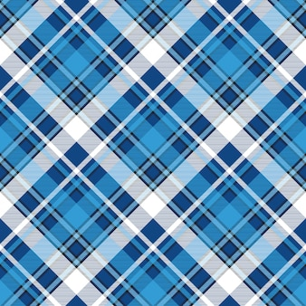 Moredn design blue plaid seamless pattern