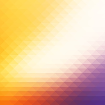 Mosaico de fundo multicolorido de diamantes