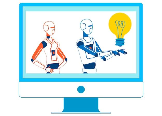 Mostra educacional de hospedagem de inteligência artificial