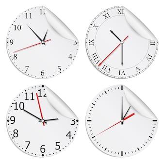 Mostradores de relógio,