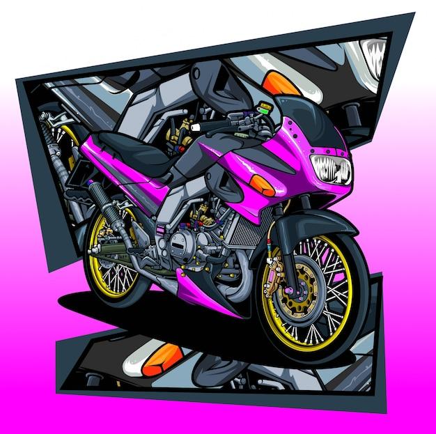 Motocicleta clássica